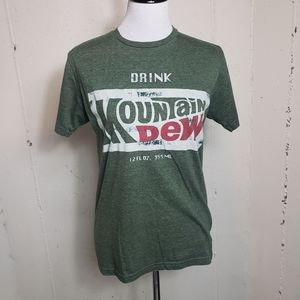 SAVVY S Mountain Dew graphic tee
